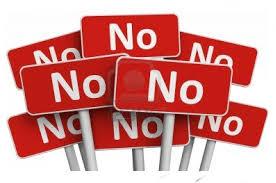 saying no 1
