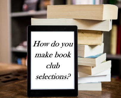 making book club selections