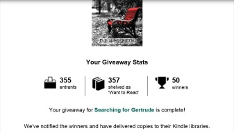 goodreads giveaway 1