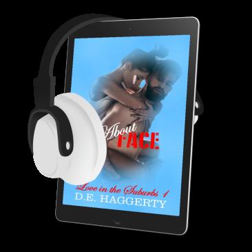 audiobook AF with headphones